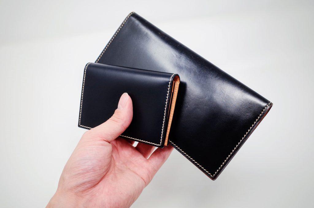 万双コードバン長財布