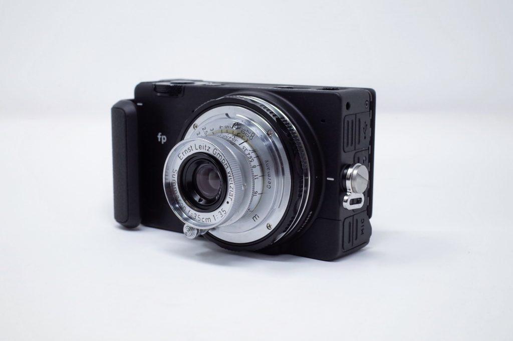 SIGMA fp + Leica Summaron 3.5cm F3.5